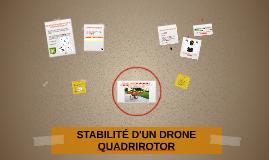 STABILITÉ D'UN DRONE