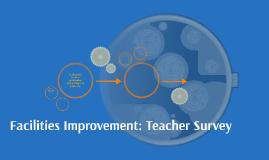 Facilities Improvement: Staff Survey