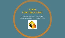 RIVERA CONSTRUCCIONES