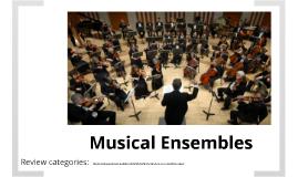 MUS 121 - Musical Ensembles