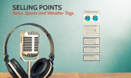 Selling Points: Tags