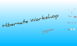 Hibernate Workshop