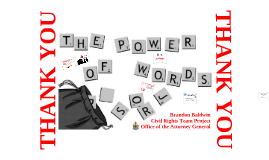 NNCW 2016 - The Power of Words