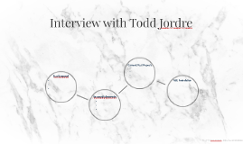 Interview with Todd Jordre