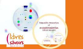 Animation et professionnalisation Libres savoirs 2016