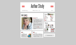Copy of Lois Lowry Author Study