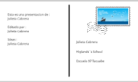 Inglés : nombre , presentacion y describir .