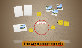 A new way to lear phrasal verbs