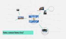 Vamos a conocer Buenos Aires?