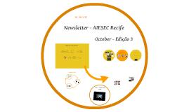 Newsletter - AIESEC Recife - Edição 3 (October)