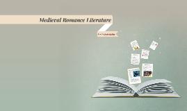 Medieval Romance Literature