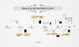 PROCESO HOMINIZACIÓN