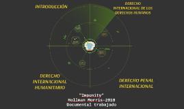 DERECHO INTERNACIONAL HUMANITARIO, PENAL INTERNACIONAL Y DE