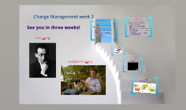 Change Management week 3