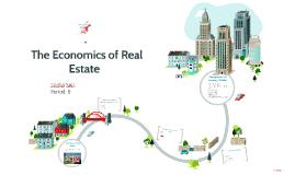 The Economics of Real Estate