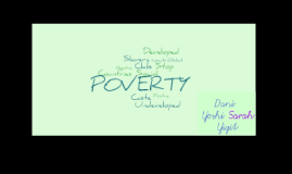 Exibition Project: Poverty