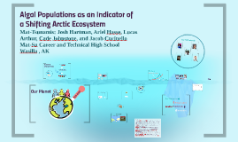 Algal Populations as an Indicator of a Shifting Arctic Ecosy