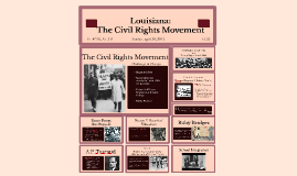 Louisiana: Civil Rights Movement