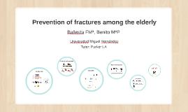 Prevención de fracturas en la población anciana