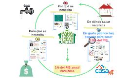 Copy of Casa YA: justificación 1% PIB vivienda (versión octubre 2017)