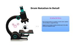 Drum Notation in Detail