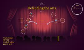 Copy of Defending the Arts