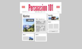 Persuasion 101