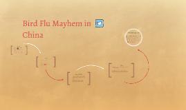 Bird Flu Mayhem in China