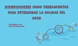 BIOINDICADORES COMO HERRAMIENTAS PARA DETERMINAR LA CALIDAD
