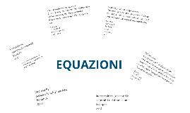 Equazioni di primo grado