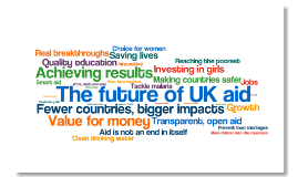The future of UK aid