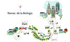 Copy of Ramas  de la biologia