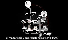 Copy of El militarismo y sus resistencias