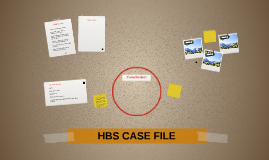 HBS CASE FILE