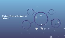 Uniform Chart of Accounts for Schools
