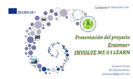 Presentación profesores INVOLVE ME & I LEARN