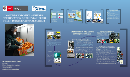 Copy of Sanitary and Phytosanitary certification system of fresh fruits