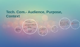 Copy of Recap: Audience, Purpose, Context