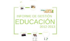 Copy of Informe de gestión Secretaría de Educación 2012