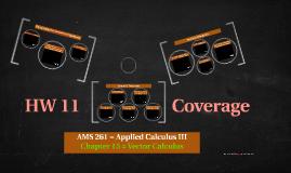 AMS 261 (HW 11 Coverage)