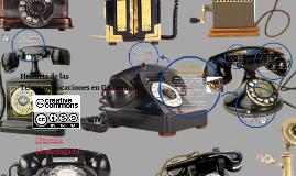 Copy of Historia de las Telecomunicaciones en Guatemala