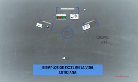 Copy of EJEMPLOS DE EXCEL EN LA VIDA COTIDIANA