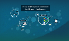 Copy of Toma de Decisiones y Tipos de Problemas y Decisiones.