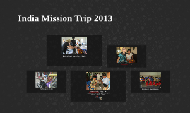 India Mission Trip 2013