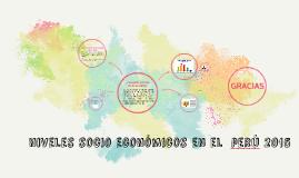 Copy of niveles socioeconómicos perú 2015