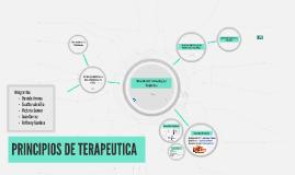PRINCIPIOS DE TERAPEUTICA