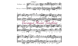 Copy of Baroque Music Timeline