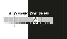 La Transition Diabolique - Christophe Busch