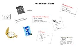 FINA 318 - Retirement Plans