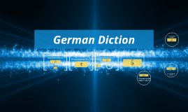 German Diction